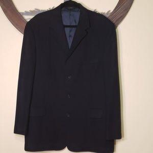 Balmain Navy Jacket Size 44L